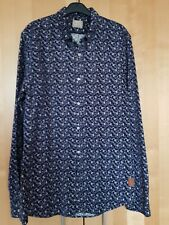 scotch and soda mens flower pattern cord shirt size large .Immaculate condition!