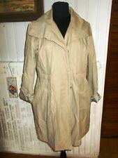 Manteau boutons trench-coat imperméable beige ARMOR LUX 40 féminin blousant
