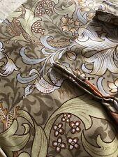 Vintage William Morris 'Golden Lily' Design By Sanderson Linen Curtains