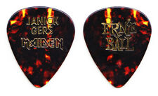 Iron Maiden Janick Gers Brown Guitar Pick - 2003-2004 Dance of Death Tour