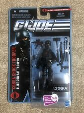 GI Joe the Pursuit of COBRA SHOCK TROOPER Elite Combat Action Figures No. 1103