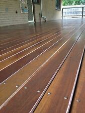 Durable Spotted Gum Australian Hardwood Decking 85x19mm New Timber fire rated