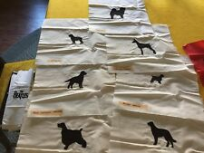 LOT OF DOGS PUPPY CHOW CHOW ROTTWEILER IRISH SETTER  LOGOS FABRIC QUILT BLOCKS