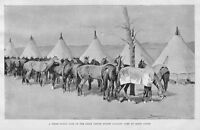 FREDERIC REMINGTON, UNITED STATES CAVALRY, RAPID CREEK