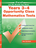 New Excel Opportunity Class Mathematics Test Year 3-4 Workbook! OC! SELECTIVE!