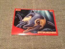 #71 Panini Dinosaurs Like Me sticker / unused / Ophthalmosaurus