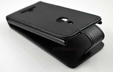 New Black Flip Leather Protective Cover Case Skin Pouch For Nokia Lumia 925