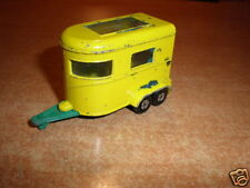 Matchbox Superfast #43  Pony trailer