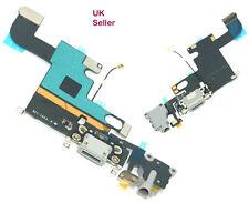 """IPhone 6 6 G (4.7"""") Porta di Ricarica + Microfono & Jack per Cuffie Dock Flex Cable Grigio"""
