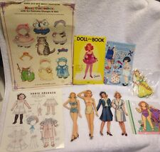 Paper Dolls 1940s to 90s Kitty Cucumber Mary Engelbreit Annie Frances Starlets