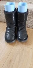 UGG boots black sequin winter boots size uk 5.5