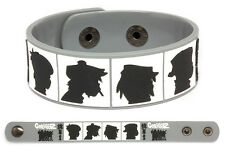 GORILLAZ Rubber Bracelet Wristband Demon Days Grey