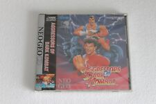 NEO GEO CD AGRESSORS OF DARK KOMBAT  NTSC USA 100% ORIGINAL NEW SEALED OLD STOCK