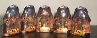 5 Star Wars Wookiee ActionFigures Hasbro Revenge of the Sith,Including Chewbacca