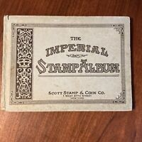1928 The Imperial Stamp Album - Scott Stamp & Coin Co.