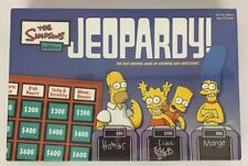 The Simpsons Edition Jeopardy Family Trivia Board Game Sealed