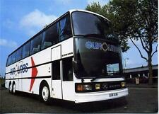 Kässbohrer Setra S216HDS doubledeck Coach EUROLINES unused 1980s postcard