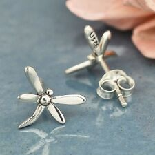 Sterling Silver .925 Dragonfly Studs Stud Post Earrings - Gift Mom Wife Daughter