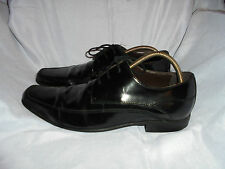 ALDO MEN'S BLACK LEATHER LACE UP SHOE SIZE UK 8.5 EU 42.5 US 9.5 VGC