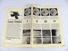 Boeing Lunar Orbiter Boeing NASA Advertisement Lunar Orbiter