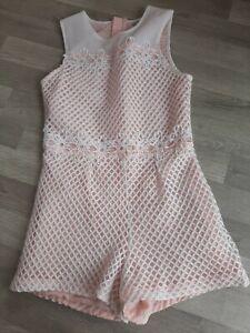Pale Pink Lace next  I Love Girlswear Dress Shorts Age 11