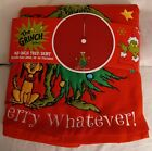 Dr. Seuss How The Grinch Stole Christmas 🎄48 inch Tree Skirt Merry Whatever