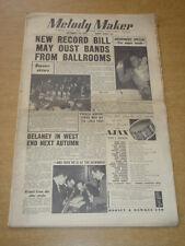 MELODY MAKER 1955 NOVEMBER 19 DRUMMERS SPECIAL BEAVERS ERIC DELANEY +