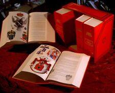 Annuario della nobiltà italiana XXXIediz. monumentale 4 voll araldica genealogia
