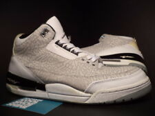 2007 Nike Air Jordan III 3 Retro FLIP CEMENT GREY WHITE BLACK SILVER RED Sz 12