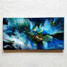 ORIGINAL Kunst Abstrakte Malerei Bild Gemälde Wandbilder Modern Art HANDGEMALT