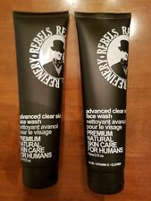 2 REBELS REFINERY Advanced Clear Skin Face Wash Premium Natural Care 5 oz.NEW