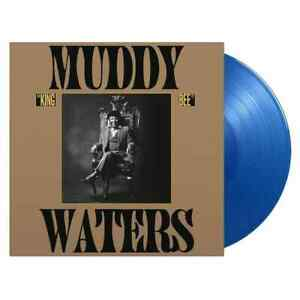 PRE-ORDER 10/1/22 Muddy Waters : King Bee - Limited Edition 180gm Blue Vinyl.
