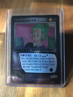 DBZ Earth Dragon Ball 7 FOIL Card #187 Score 2000 CCG TCG N/M Holo Z Bulma HTF