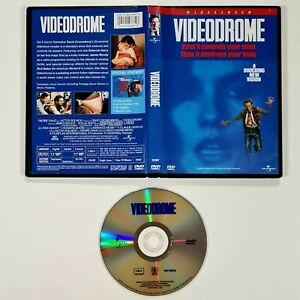 US DVD David Cronenberg VIDEODROME uncut 89min Science Fiction/Body Horror