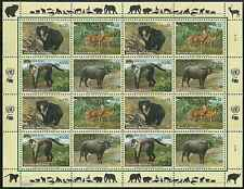 Timbres Animaux Nations Unies Vienne F 418/21 ** année 2004 lot 4200