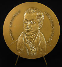 Médaille Guillaume Dupuytren anatomiste et chirurgien militaire maladie de medal