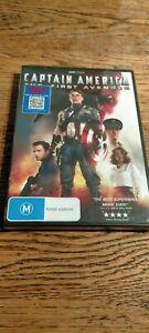 Captain America, The First Avenger (DVD 2013) New & Sealed R4