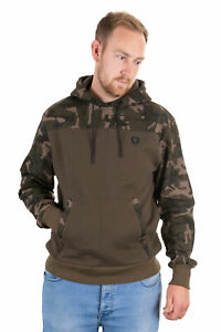 FOX NEW  Khaki / Camo Hoodie - Carp Fishing Hoody  - All Sizes