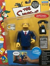 THE SIMPSONS World of Springfield WOS Super-Intendent Chalmers SERIES 8 Figure