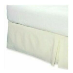 Smoothweave™ 14-Inch Tailored Queen Bed Skirt in Ivory