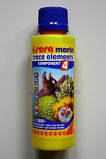 Sera Marin Trace Elements 250ml Component 4 for Saltwater 31,96 €/ L