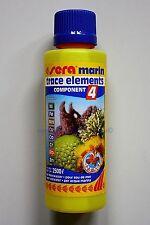 Sera marin trace elements 250ml Component 4 für Meerwasser 31,96€/L