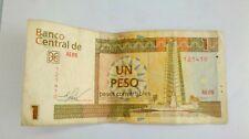 Un pesos banco central de quba banconota da collezione