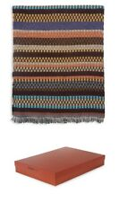 Missoni Home Striped Browns Wool-Blend Throw Home Decor 46 x 75 gorgeous $780