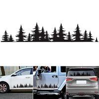 Pine Tree Forest Car Custom Vinyl Decal window Graphic Sticker Mountains Coast