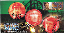 "Dr Who - ""The Green Death"" Episode - Signed by COURTNEY, FRANKLIN & BEVAN"