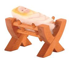 Crib with child II 2-teilig ostheimer 42113 Classics Crib Nativity Figurine