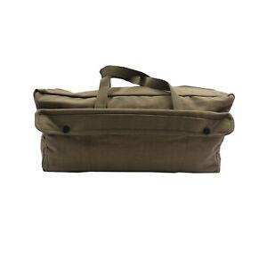"17.5"" MECHANICS TOOL BAG OLIVE HARD BASE CARRY BAG Peg, Ropes & Tool Bag"