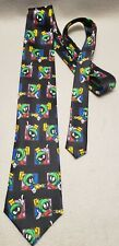 Marvin the Martian Necktie Looney Tunes Tie Vintage 1999