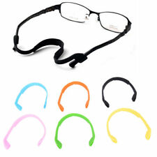 KIDS  STRETCHY SILICONE SPORTS BAND STRAP GLASSES  HOLDER,6 COLS AVAILABLE.